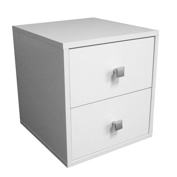 Nicho com gaveta cubo mdp branco 36x33x35 cm be brv - Cubos leroy merlin ...