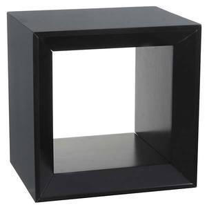 Nicho Cubo Multiforma Aberto Preto 30x30x25cm Montfácil