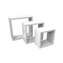 Nicho Kit Cubo Branco 30x25x20x15cm Spaceo