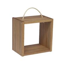 Nicho Cubo 30x30x20cm Madeirado Wood Spaceo