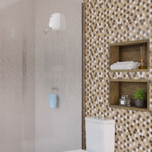 Nicho para Banheiro Antique Wood Carvalho 30x60x10cm Artens