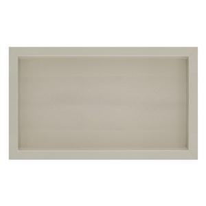 Nicho para Banheiro Bianco Bege Polido 30x60x10cm Artens