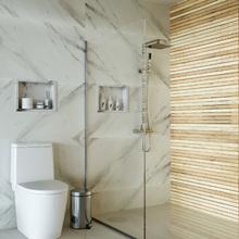 Nicho para Banheiro Branco Nevado 31,5x41,5x12cm Artens