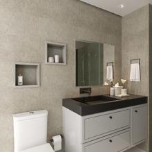 Nicho para Banheiro Cemento Concreto 30x30x10cm Artens