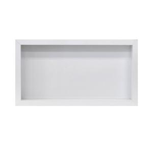 Nicho para Banheiro White Polido 30x60x10cm Artens