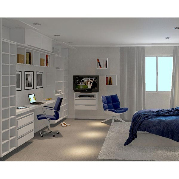 nicho ret ngular madeira branco 18x70x30cm prime spaceo leroy merlin. Black Bedroom Furniture Sets. Home Design Ideas