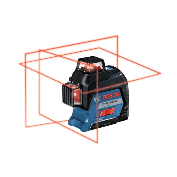 Nivel A Laser Gll 3 80 Bosch Leroy Merlin