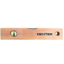 """Nível de Madeira 12"""" 30cm - Dexter"""