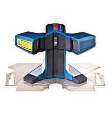 Nível laser sem bolhas 90° 1,5V AA 156x102x98mm Western