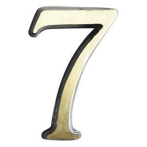 Número Apto 51 mm Colonial Latão N.7