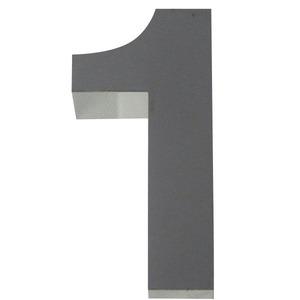 Número para residência Número 1 30 cmx7 cm Polido Italy Line