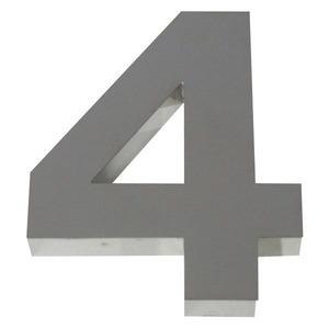 Número para residência Número 4 15 cmx11,3 cm Polido Italy Line