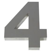 Número para residência Número 4 30 cmx11,3 cm Polido Italy Line