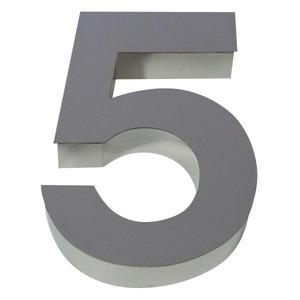 Número para residência Número 5 30 cmx11 cm Polido Italy Line