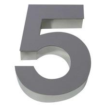 Número para residência Número 5 40 cmx11 cm Polido Italy Line
