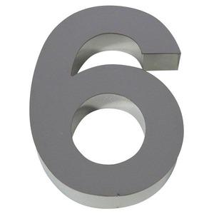 Número para residência Número 6/9 15 cmx11 cm Polido Italy Line
