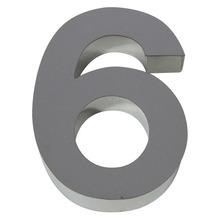 Número para residência Número 6/9 40 cmx11 cm Polido Italy Line