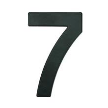 Número para Residência Número 7 14,5 cmx10 cm Cromado Bemfixa