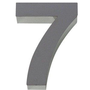 Número para residência Número 7 30 cmx10 cm Polido Italy Line