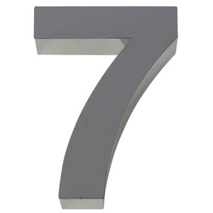 Número para residência Número 7 40 cmx10 cm Polido Italy Line