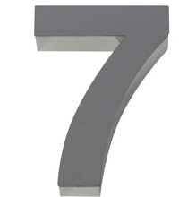 Número para residência Número 7 50 cmx10 cm Polido Italy Line