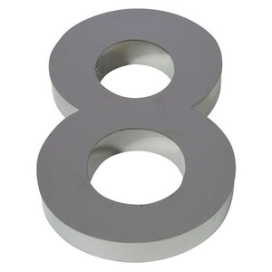 Número para residência Número 8 20 cmx11 cm Polido Italy Line