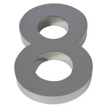 Número para residência Número 8 50 cmx11 cm Polido Italy Line