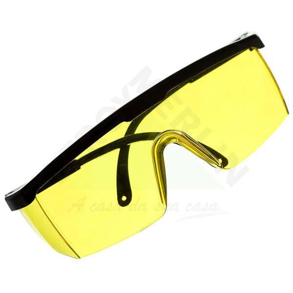 Óculos de Segurança Ambar Spectra 2000 Carbografite   Leroy Merlin ae9d2e9ff0