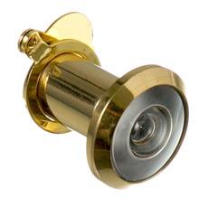 Olho Mágico para Porta 25 a 42mm 200º Latão Dourado Cromado
