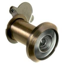 Olho Mágico para Porta 25 a 42mm 200º Latão Dourado Oxidado