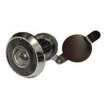 Olho Mágico para Porta 25 a 42mm 200º Latão Prata Cromado