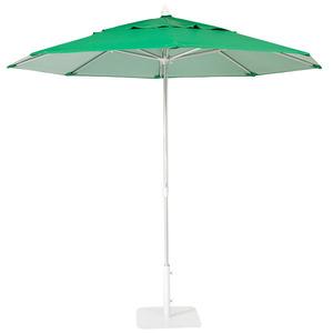 Ombrelone Alumínio/Pvc Redondo mult Lev 2,4m Verde Ecogarden