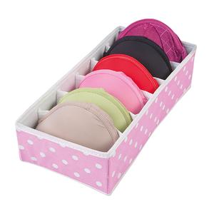 Organizador de Closet TNT Rosa e Branco 9x15,50x33,50cm Ordene