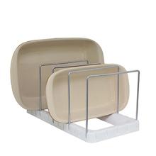 Organizador de Formas 14x12,5x27cm Cromado Space Savers Metaltru
