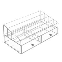 Organizador de Maquiagem Metal e Plástico 15x18x33cm Interdesign