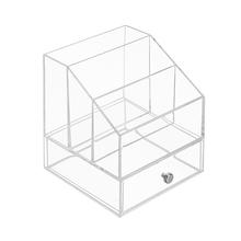 Organizador de Maquiagem Metal e Plástico 19x17x17cm Interdesign