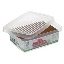 Caixa para Sapato Plástico Transparente 15x22x7cm