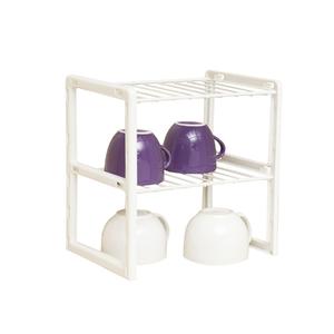 Organizador Multiuso Pequeno 24x25x18cm Branco Space Savers Metaltru
