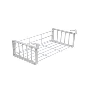 Organizador para Armário Cestex Grande 39x9x18cm Branco Space Savers Metaltru