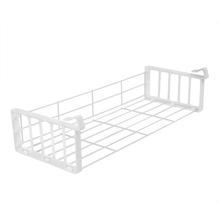 Organizador para Armário Cestex Jumbo 44x9x18cm Branco Space Savers Metaltru