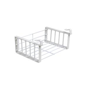 Organizador para Armário Cestex Pequeno 23,5x9x18cm Branco Space Savers Metaltru