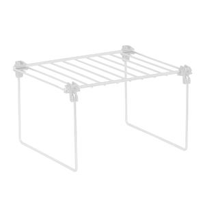 Organizador para Armário Pequeno 22,5x12,5x19cm Branco Space Savers Metaltru