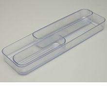 Organizador Plástico 34x4x11 cmTransparente