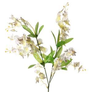 Orquídea Chuva de Ouro Creme 70cm Flor Arte
