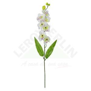 Orquídea X8 Branca 68cm Florarte