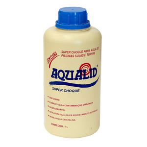 Oxidante Super Choque Líquido Em 1L Aqualid