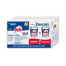 Pack 2 Cloros Brilliance 5,5Kg grátis Fita Teste HTH