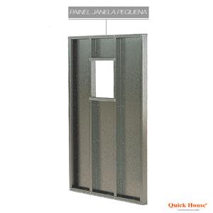 Painél Metalico 1,80x2,60m para janela 0,60x0,60m Quick House