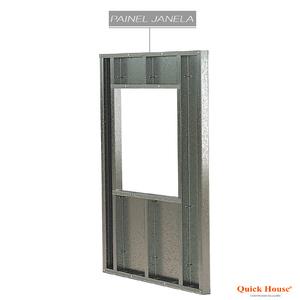 Painél Metalico 1,80x2,60m para janela 1,20x1,20m Quick House