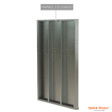 Painél Metalico 1,80x2,60m Quick House